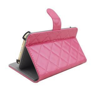 Luxury univerzálne puzdro pre mobil do 148 x 76 x 21 mm - rose - 4