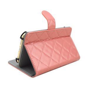 Luxury univerzálne puzdro pre mobil do 148 x 76 x 21 mm - ružové - 4