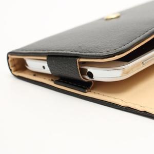 Softy univerzálne puzdro pre mobil do 137 × 71 × 8,6 mm - čierne - 4