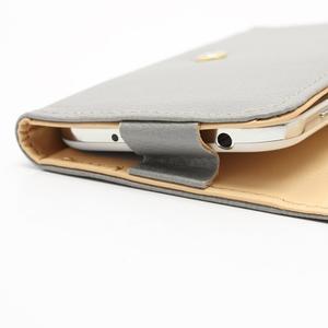 Softy univerzálne puzdro pre mobil do 137 × 71 × 8,6 mm - šedé - 4