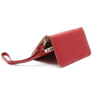 Softy univerzálne puzdro pre mobil do 137 × 71 × 8,6 mm - červené - 4