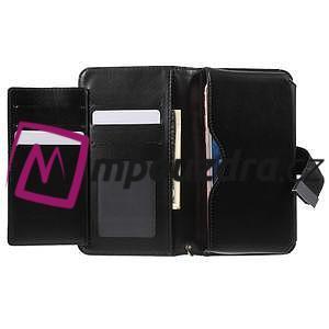 Luxusné univerzálne puzdro pre telefony do 140 x 70 x 12 mm - čierne - 4