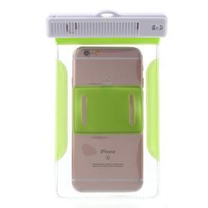 Nox7 vodotesný obal pre mobil do rozmerov 16.5 x 9.5 cm - zelený - 4