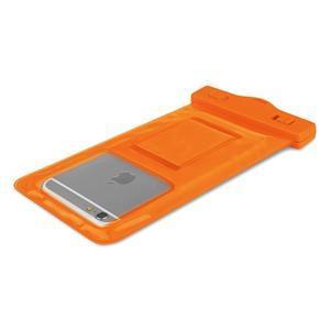 Base IPX8 vodotesný obal pre mobil do 158 x 78 mm - oranžový - 4