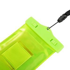 Base IPX8 vodotěsný obal na mobil do 158 x 78 mm - zelený - 4