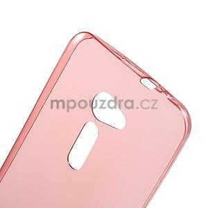 Ultra tenký slim gélový obal pre Asus Zenfone 2 ZE500CL - červený - 4