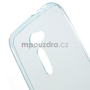 Ultra tenký slim gélový obal na Asus Zenfone 2 ZE500CL - svetlomodrý - 4