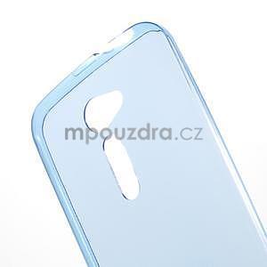Ultra tenký slim gélový obal na Asus Zenfone 2 ZE500CL - modrý - 4