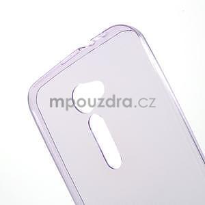 Ultra tenký slim gélový obal pre Asus Zenfone 2 ZE500CL -  fialový - 4