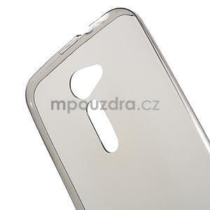 Ultra tenký slim gélový obal na Asus Zenfone 2 ZE500CL - šedý - 4