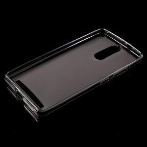 Matný gélový obal pre mobil Lenovo K5 Note - šedý - 5