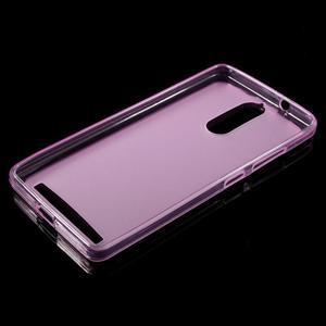 Matný gélový obal pre mobil Lenovo K5 Note - ružový - 5