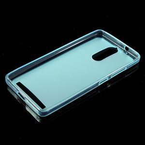 Matný gélový obal pre mobil Lenovo K5 Note - modrý - 5