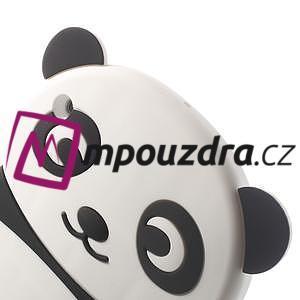 3D silikónové puzdro pre iPad mini 2 - čierná panda - 5