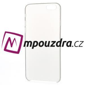 Ultra slim 0.3 mm plastové puzdro pre iPhone 6, 4.7  - sivé - 5