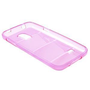 Gélové puzdro pre Samsung Galaxy S5 mini G-800- vesta ružová - 5