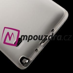 Gélové puzdro na Samsung Galaxy Note 4- transparentný - 5