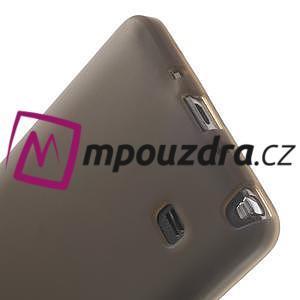 Gélové puzdro na Samsung Galaxy Note 4- šedé - 5