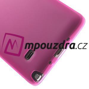 Gélové puzdro pre Samsung Galaxy Note 4- ružové - 5