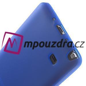 Gélové puzdro na Samsung Galaxy Note 4- modré - 5