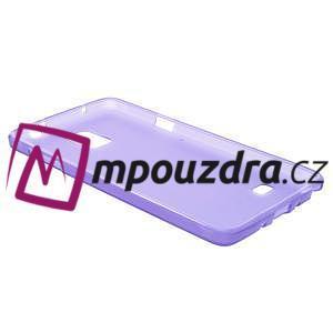 Gélové puzdro pre Samsung Galaxy Note 4- fialové - 5