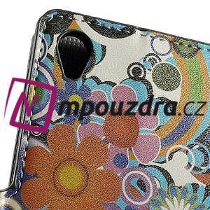 Peňaženkové puzdro na Sony Xperia Z3 D6603 - farebné vzory - 5