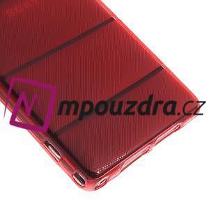 Gélové Body puzdro pre Sony Xperia Z1 C6903 - červené - 5
