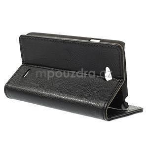 Peňaženkové puzdro pre LG L65 D280 - čierné - 5