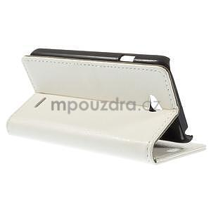 Peňaženkové puzdro pre LG L65 D280 - biele - 5