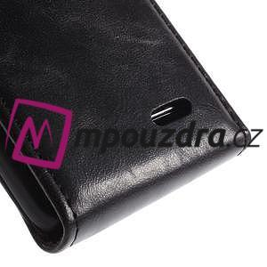 Flipové puzdro na LG L65 D280 - čierné - 5