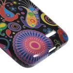 Gélové puzdro na LG L65 D280 - farebné vzory - 5/5
