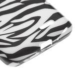 Gélové puzdro na LG L65 D280 - bílá zebra - 5/5