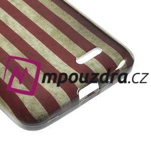 Gélové puzdro na LG L65 D280 - USA vlajka - 5