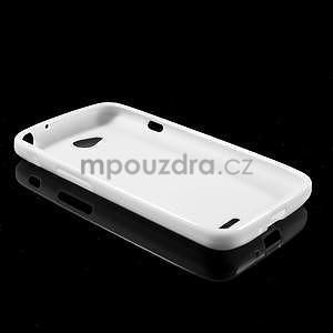 Gélové puzdro pre LG L65 D280 - biele - 5