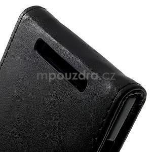 Flipové puzdro na Nokia Lumia 830 - čierné - 5