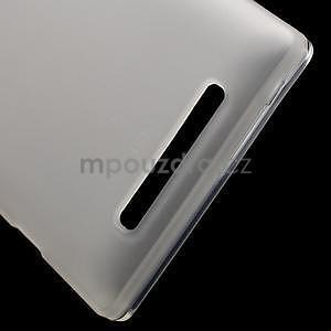 Gélové matné puzdro na Nokia Lumia 830 - transparentný - 5