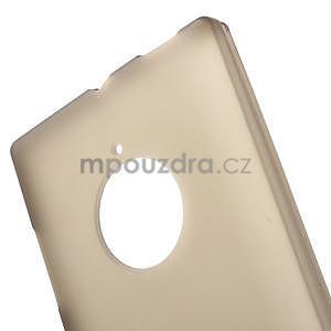 Gélové matné puzdro na Nokia Lumia 830 - sivé - 5