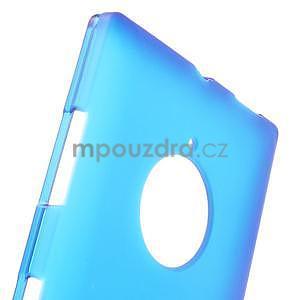Gélové matné puzdro na Nokia Lumia 830 - modré - 5