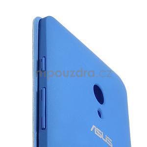 Flipové puzdro na Asus Zenfone 5 - svetlo modré - 5