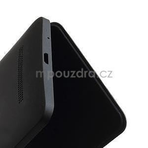 Flipové puzdro na Asus Zenfone 5 - tmavo modré - 5