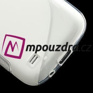 Gelové S-line pouzdro pro Samsung Galaxy S4 mini i9190, i9192, GT-i9195 - transparentní - 5