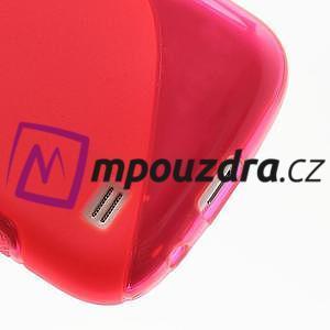 Gélové S-line puzdro pro Samsung Galaxy S4 mini i9190, i9192, GT-i9195 - rose - 5