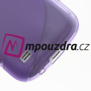 Gelové S-line pouzdro pro Samsung Galaxy S4 mini i9190, i9192, GT-i9195 - fialové - 5