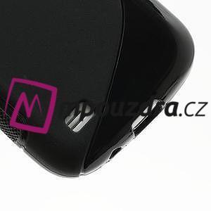 Gelové S-line pouzdro pro Samsung Galaxy S4 mini i9190, i9192, GT-i9195 - černé - 5