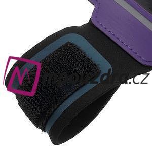 BaseRunning puzdro na ruku pre telefony do 125*60 mm - fialové - 5