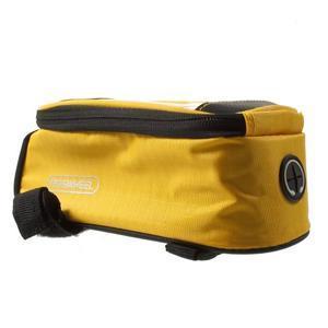 Brašna na kolo s úložným prostorem pro mobily do rozměru 138,3 x 67,1 × 7,1 mm - žlutá - 5