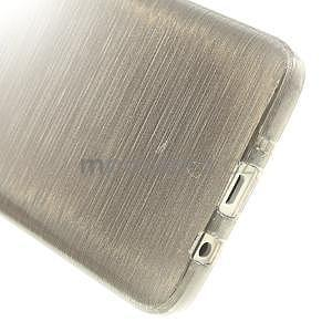 Broušené puzdro na Samsung Galaxy A3 - šedá - 5