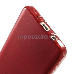 Broušené puzdro na Samsung Galaxy A3 - červená - 5
