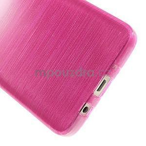 Broušené puzdro na Samsung Galaxy A3 - rose - 5