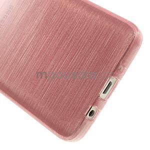 Broušené puzdro na Samsung Galaxy A3 - ružová - 5